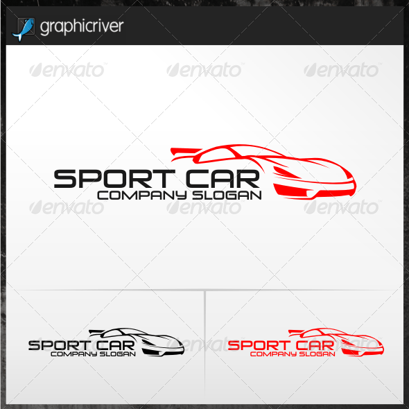 Sport Car Logo Templates From Graphicriver