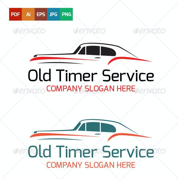 Old Timer Service Logo