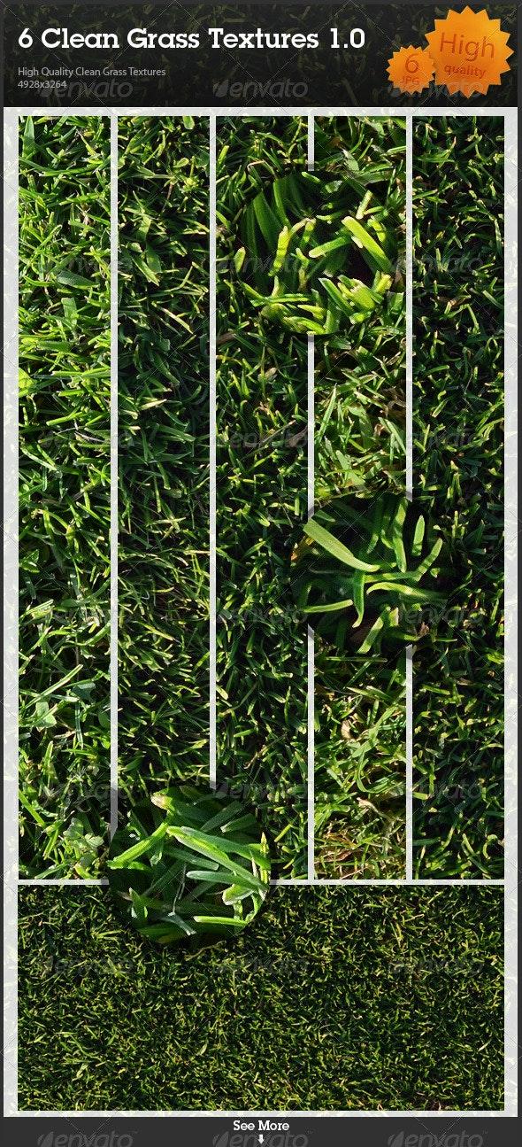 6 Clean Grass Textures 1.0 - Nature Textures