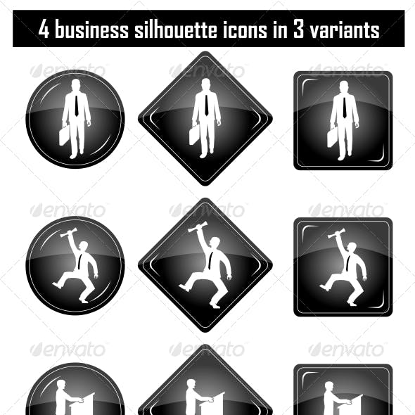 Download Business People Silhouette