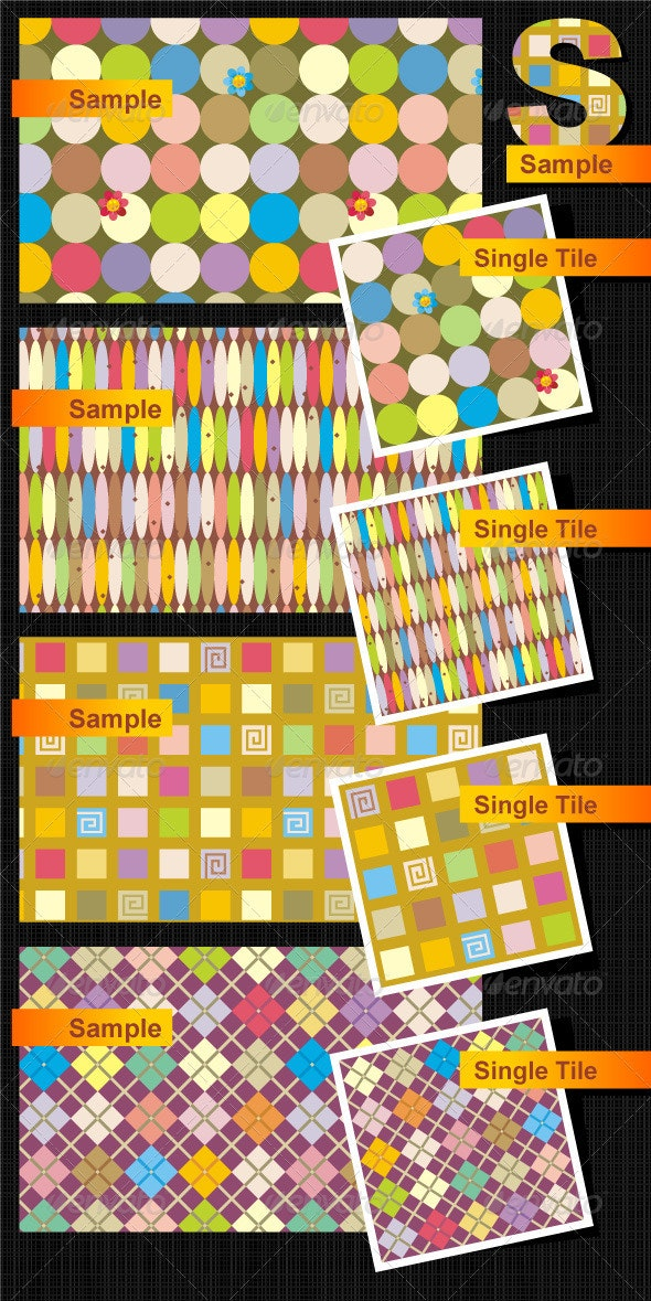 Seamless Patterns - Patterns Decorative