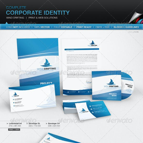 Corporate Identity - Wind Drifting