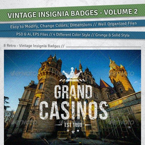 Vintage Insignia Badges | Volume 2