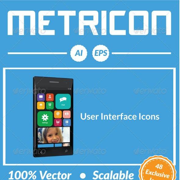 Metricon - User Interface Icons