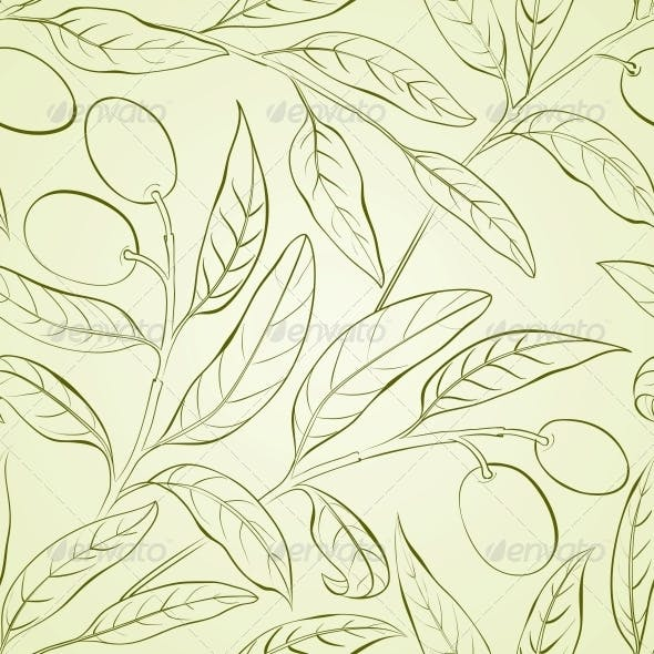 Olive background.