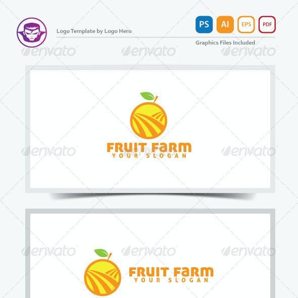 Fruit Farm Logo Template