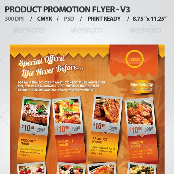 Product Promotion Flyer V3