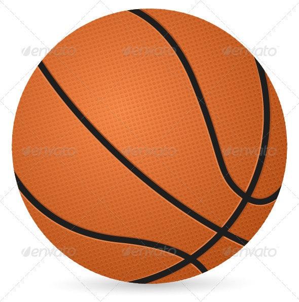 Basketball Ball - Sports/Activity Conceptual