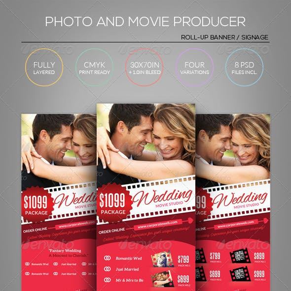 Photography/Movie/Film - Roll-Up Banner