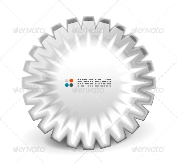 3d Round Shapes Banner - Web Technology