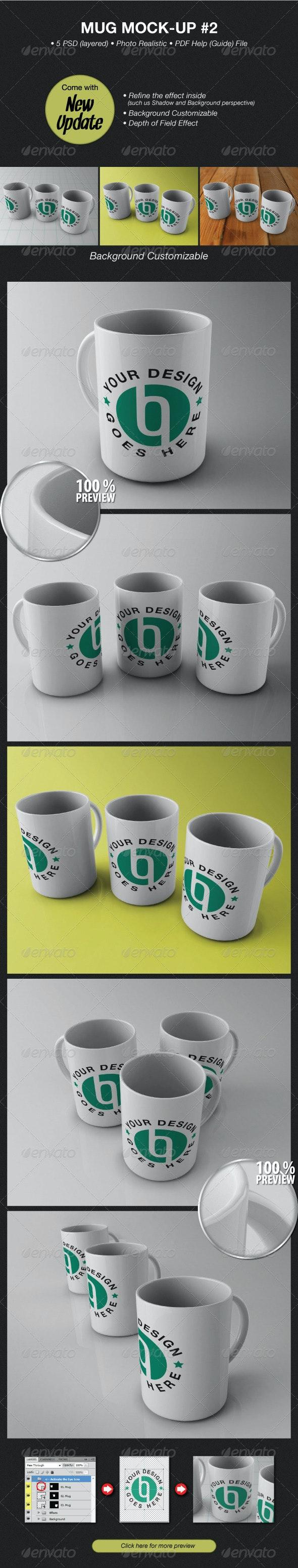 Mug Mockup #2 - Food and Drink Packaging