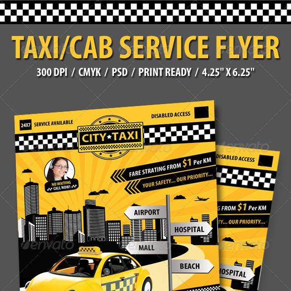 Taxi/Cab Flyer
