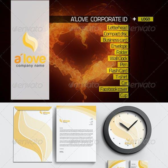 A'love Corporate Identity