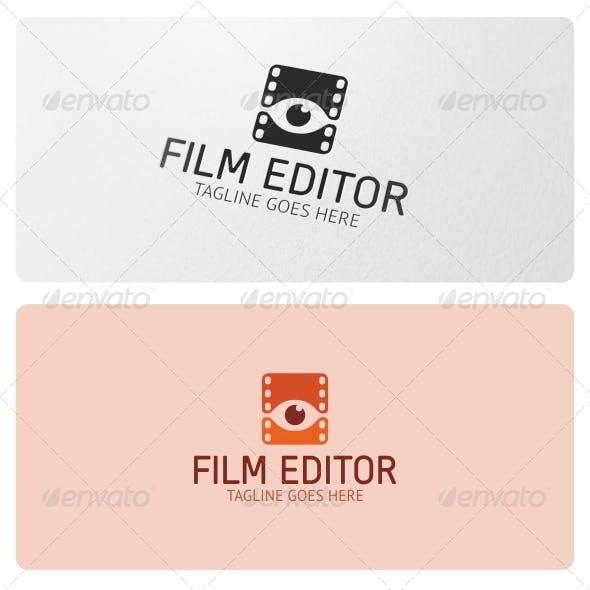 Film Editor Logo Template