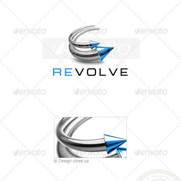 Technology Logo 3D-765