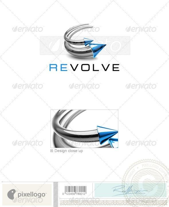 Technology Logo 3D-765 - 3d Abstract