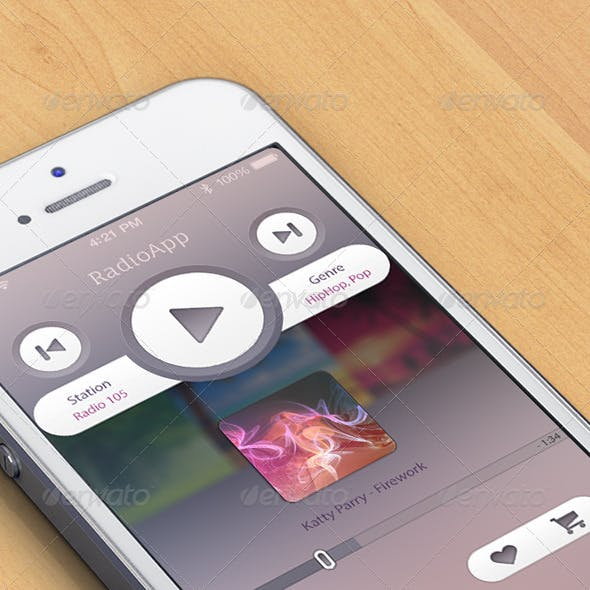 Simple Music/Radio App