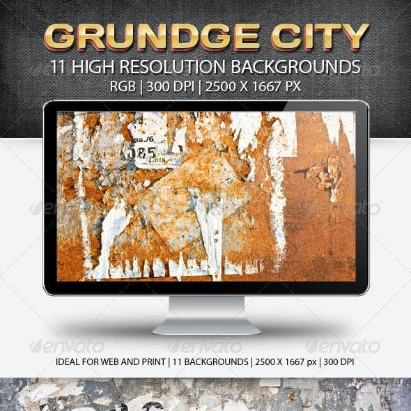 Grundge City 11 Textures