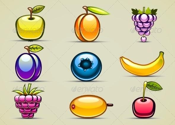 Nine Fruits Set