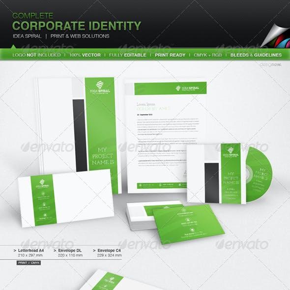 Corporate Identity - Idea Spiral