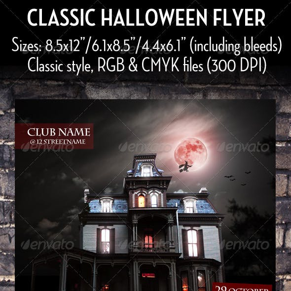 Haunted Graphics, Designs & Templates from GraphicRiver (Page 3)