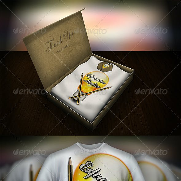 T-Shirt Presentation Mock up Kit