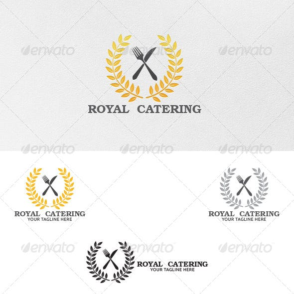 Royal Catering - Logo Template
