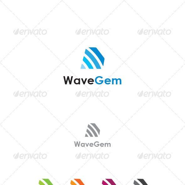 Wave Gem Logo