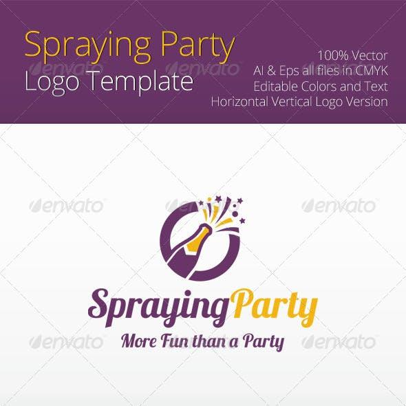 Spraying Party Logo