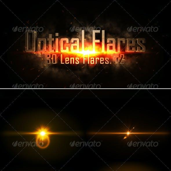Optical Flares - 30 Lens flares .v2
