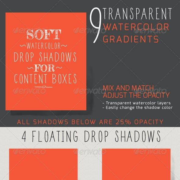 Watercolor Shadows