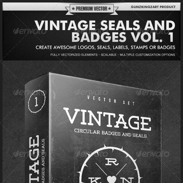 Vintage Seals and Badges Vol. 1