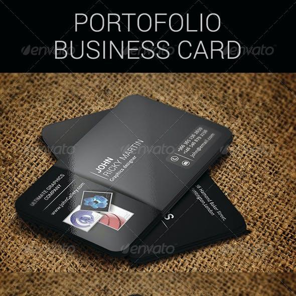 Portofolio business card
