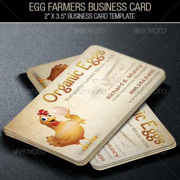 Egg Farmers Business Card