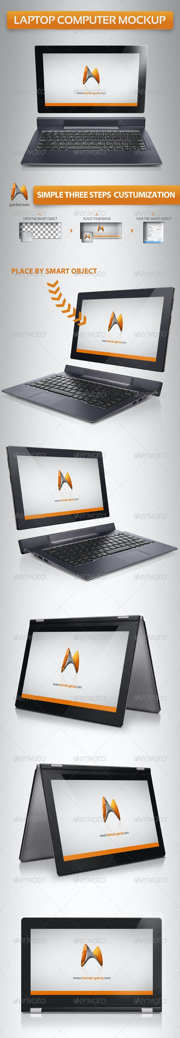 Laptop Computer Mockup - Laptop Displays