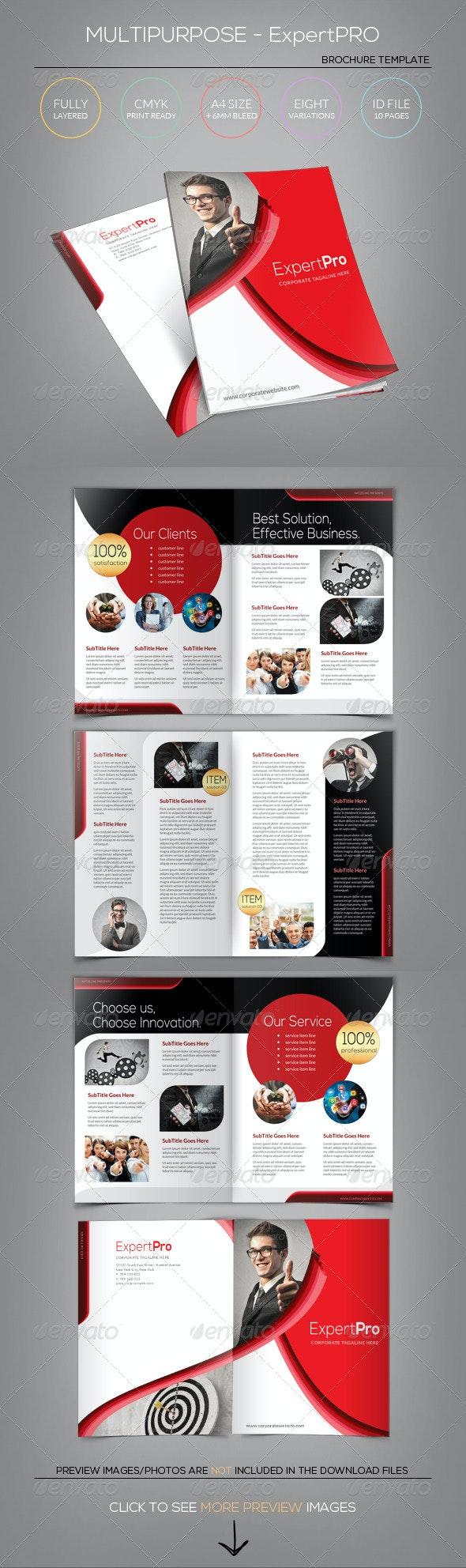 Multipurpose Brochure Template - Expert Pro - Corporate Brochures