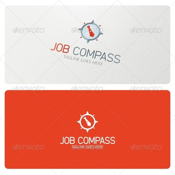 Job Compass Logo Template