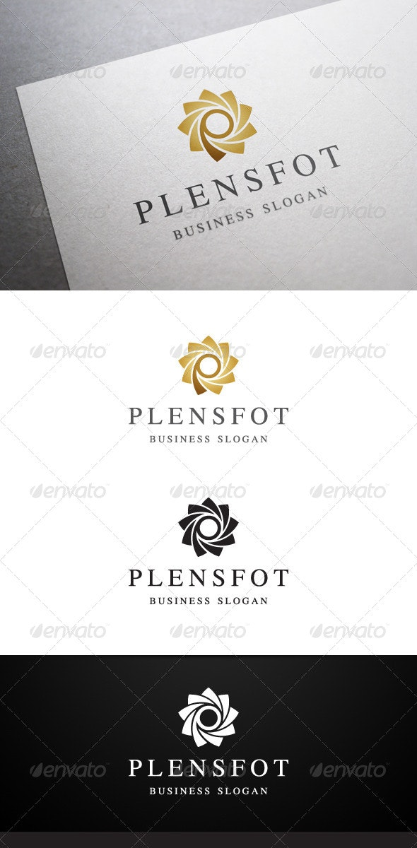 Plensfot Logo - Abstract Logo Templates