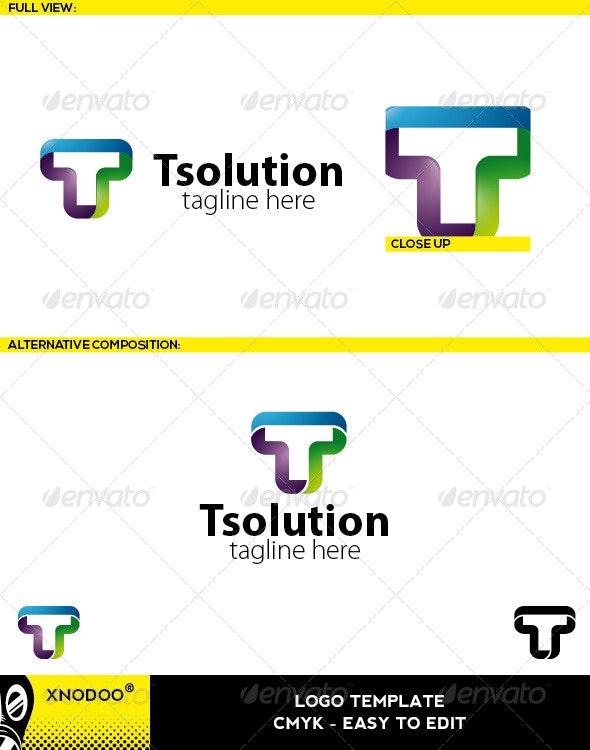 Tsolution Logo - Letters Logo Templates