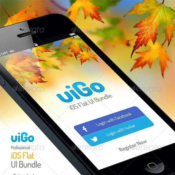 uiGo » iOS Flat UI Bundle