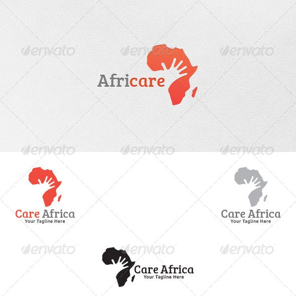 Care for Africa - Logo Template