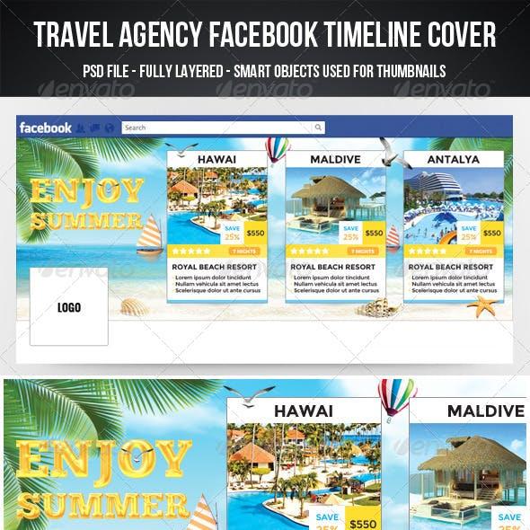 Travel Agency Facebook Timeline Cover