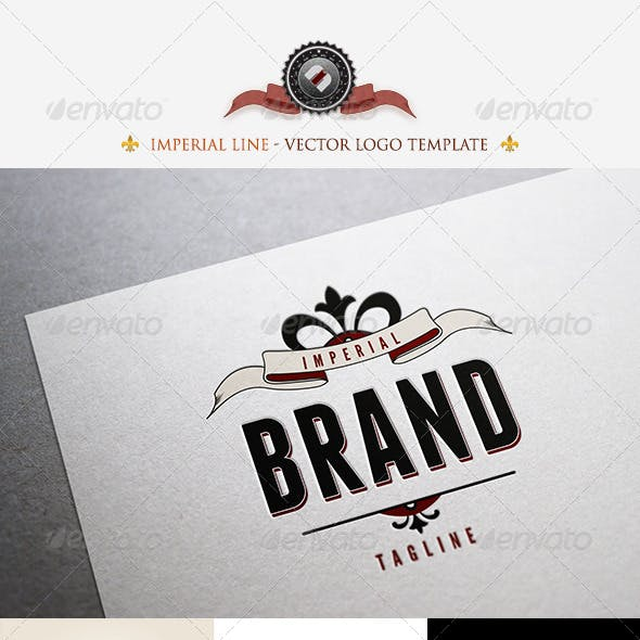 Imperial Brand Logo Template