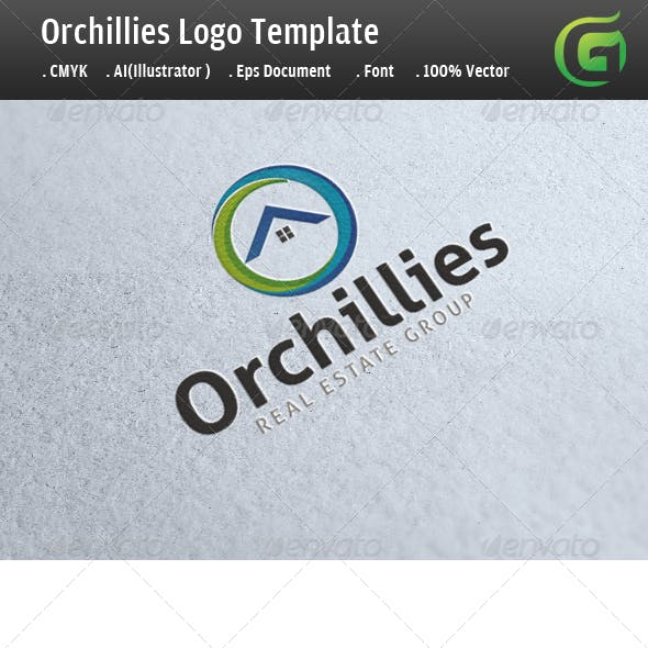 Orchilllies Real Estate Logo