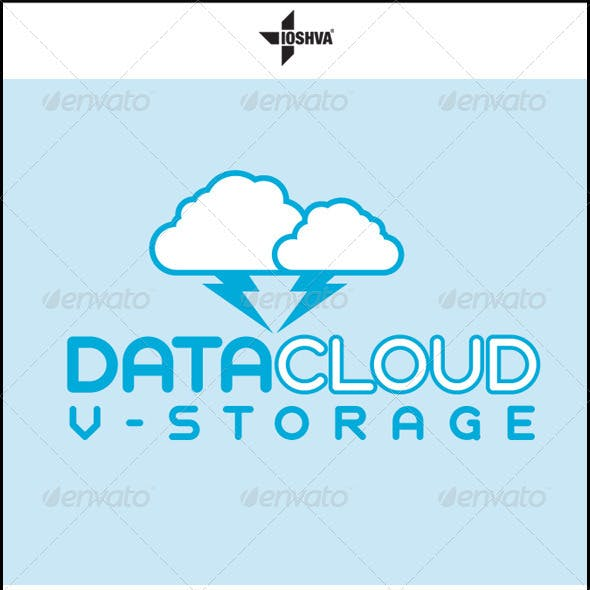 Data Cloud Virtual Storage Logo