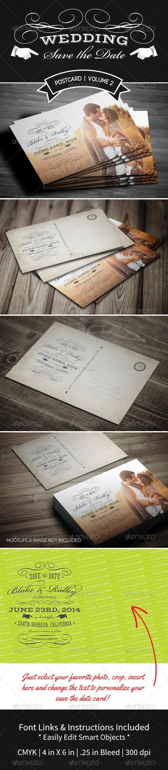 Save The Date Postcard | Volume 2 - Weddings Cards & Invites