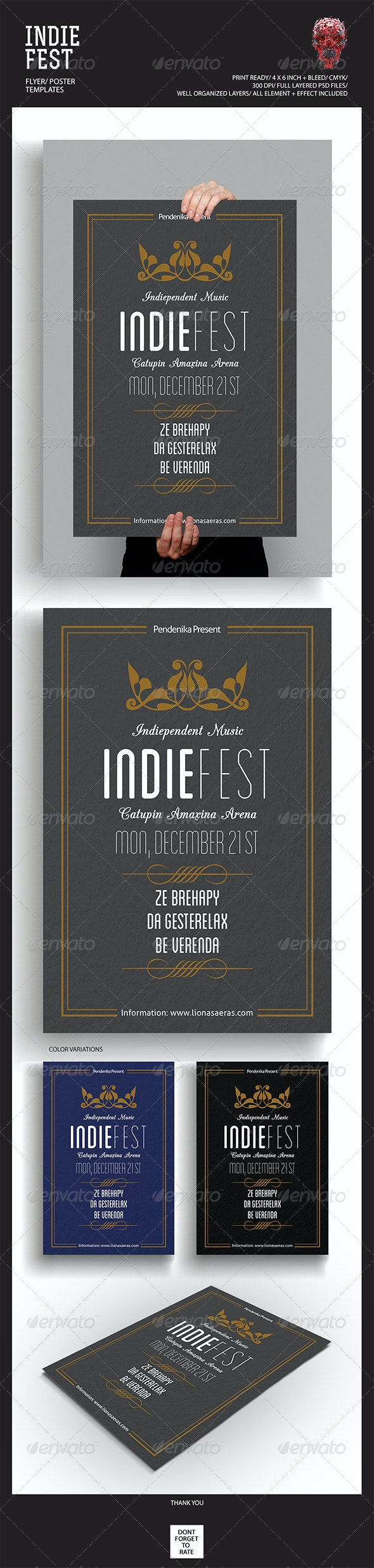 Simple Flyer/Poster - Events Flyers