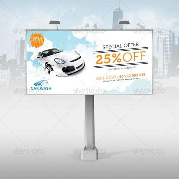 Car Wash Billboard Ads