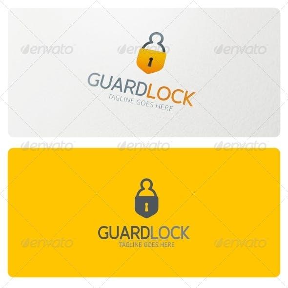 Guard Lock Logo Template