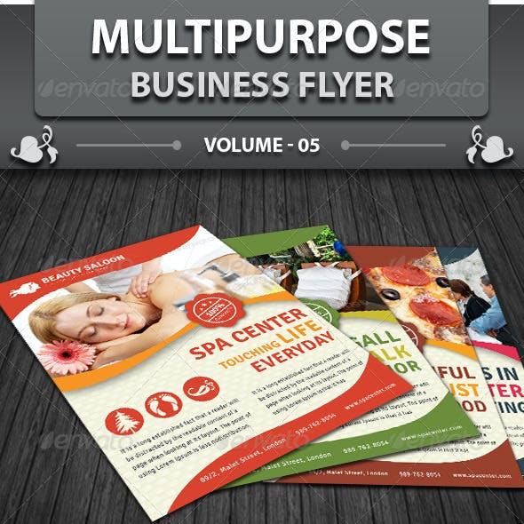 Multipurpose Business Flyer | Volume 5